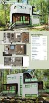 plan 90284pd modern home plan with optional lower level modern