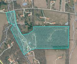 private 25 acre waterford estate with pond stream