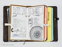 bullet journaling in a traveler u0027s notebook with pictures