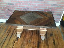Barn Board Coffee Table Repurposed Coffee Table Creative Coffee Table Decor Ideas