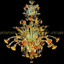 Chandelier Dubai Sunflowers Dubai Murano Glass Chandelier
