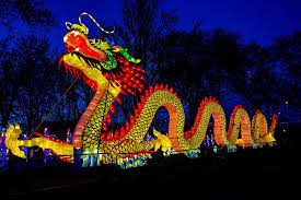 Milwaukee Lights Inaugural Chinese Lantern Festival Comes To Boerner Botanical