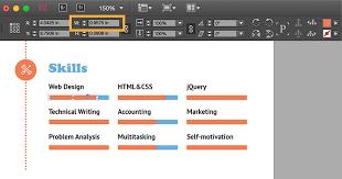 Original Resume Design Create A Professional Resume Adobe Indesign Cc Tutorials