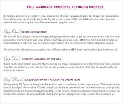 Wedding Planner Resume Sample by Marriage Proposal Template Wedding Proposal 5 Catering Proposal