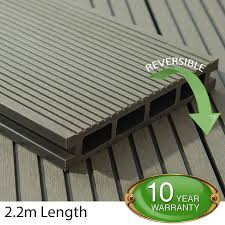 composite decking boards grey tough decking composite decking