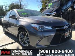 toyota credit bank used 2015 toyota camry se in bloomington