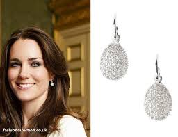 earrings kate middleton kate middleton links of london egg white topaz earrings