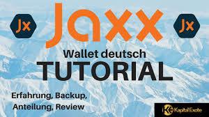 kryptokurs 5 jaxx blockchain wallet deutsch tutorial backup