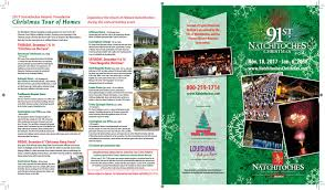 natchitoches christmas brochure 2017 by natchitoches tourism issuu