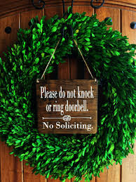 no soliciting sign 7x8 no soliciting door sign do not