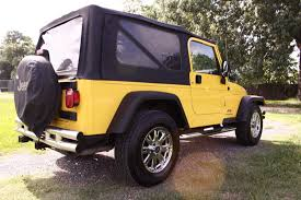 yellow jeep wrangler unlimited jeep wrangler 2006 unlimited ebay