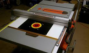 Woodworking Router Forum by Router Table Insert For R4510 Table Saw Ridgid Plumbing
