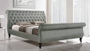 Upholstered Sleigh Bed Antoinette Upholstered Sleigh Bed Reviews Joss
