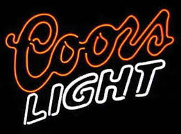 vintage coors light neon sign 2018 2016 coors light neon sign commercial handcrafted custom real