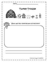 22 best literacy turkey trouble images on turkey