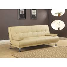 furniture white leatherette sofa vinyl couches faux leather couch