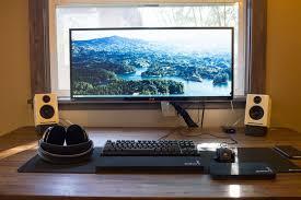 Good Desks For Gaming by Ultrawide Monitor Desks Pinterest Monitor Gaming Setup And