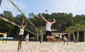 playing all the angles on the volleyball court sports