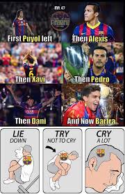 Barca Memes - barcelona fans right now football jokes pinterest football