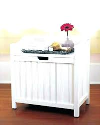 Bathroom Bench With Storage Bathroom Bench Seat Storage Her Bench With Cushion Teak