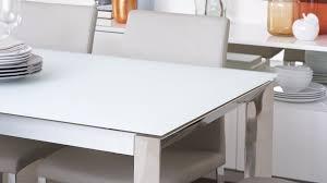 black glass extending dining table white high gloss extending
