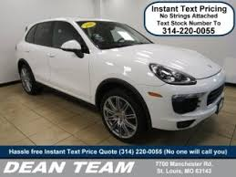 porsche cayenne change price porsche for sale in st louis mo