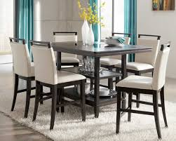 brilliant stunning counter height kitchen table sets bar height