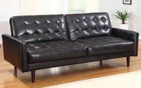White Leather Sleeper Sofa Contemporary Leather Sleeper Sofa Book Of Stefanie
