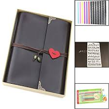 Leather Scrapbook Albums Amazon Com Scrapbook Album