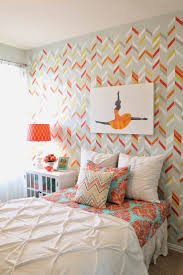 Accent Wall Patterns by Bedroom Wall Stencils Design Home Design Ideas