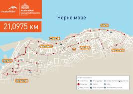 Ua Map Arcelormittal Odesa Half Marathon Arcelormittal Odesa Half Marathon