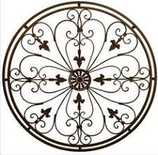 Iron Wrought Wall Decor Tuscan Wall Decor Iron Wall Grille I Would Need 2 To Use On