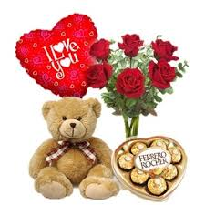 balloons and chocolate delivery abu dhabi and flower delivery 6 roses teddy