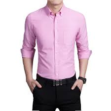 online cheap men plaid french cuff button dress shirts social