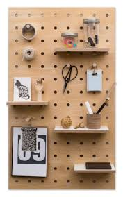 Pegboard Ideas by Wooden Peg Board Wooden Pegs Garage Storage And Shelves