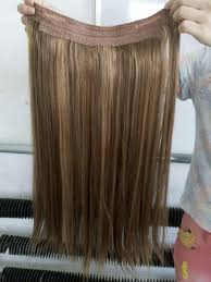 Where To Buy Wholesale Hair Extensions by Cheap Double Drawn Indian Remy Hair No Clips Halo Flip In Hair