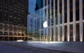 apple siege apple construit siège et brevète ses cubes de verre