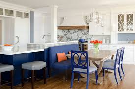Blue And White Kitchen Cobalt Blue And White Reno Contemporary Kitchen Portland