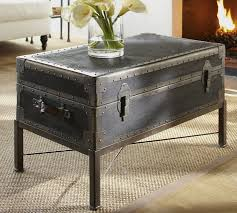 Coffee Table Trunks Ludlow Trunk Coffee Table Pottery Barn