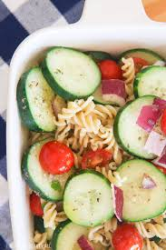Best Pasta Salad by The Best Cucumber Pasta Salad Gluten Free