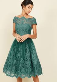 christmas cocktail party dress chi chi london exquisite elegance lace dress in lake lace dress