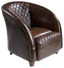 Barrel Accent Chair Navy Barrel Chair Leather Club Chair Brown Armchairs And Accent
