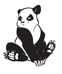 best wild panda bear tattoo stencil photo 1 photo pictures