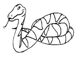 coloring pages of snakes printable snake coloring pages for kids