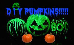 Glow In The Dark Planters by Diy Glow In The Dark Pumpkins Tutorial Youtube
