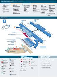New York Airport Terminal Map by O U0027hare Airport Terminal 1 Map