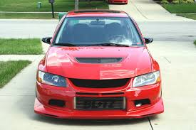 mitsubishi pink mitsubishi lancer evolution tech voltex aero installation photo