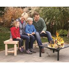 Fire Pit Logs by Castlecreek Log Fire Pit Bench 676469 Patio Furniture At