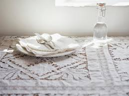 shabby chic table runner vintage shabby chic tablecloths hgtv