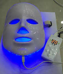 best blue light for acne 7 colors photon pdt led skin care led mask blue green red